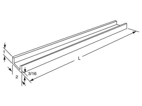 Newton Auxiliary Framing Channel