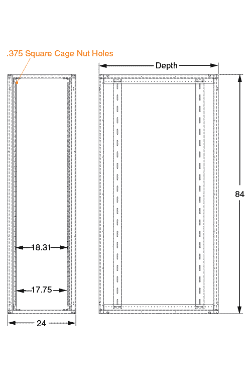 placeholder for Newton Server Cabinet / Frame
