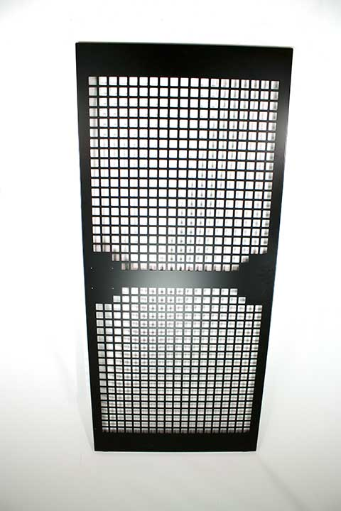 security caging door panel